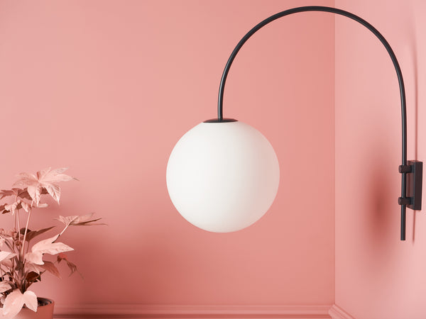 Curve wall light grey | dimension | houseof.com