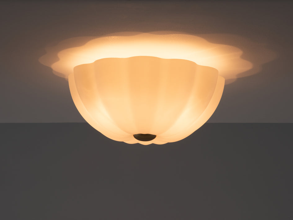 Flower flush light opal | dark | houseof.com