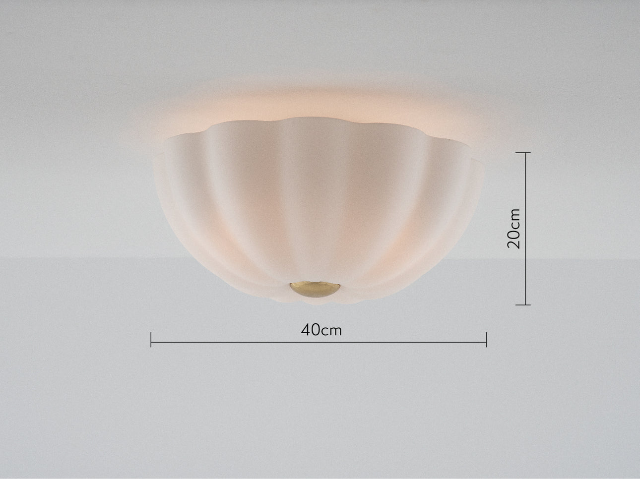 Flower flush light opal | dimension | houseof.com