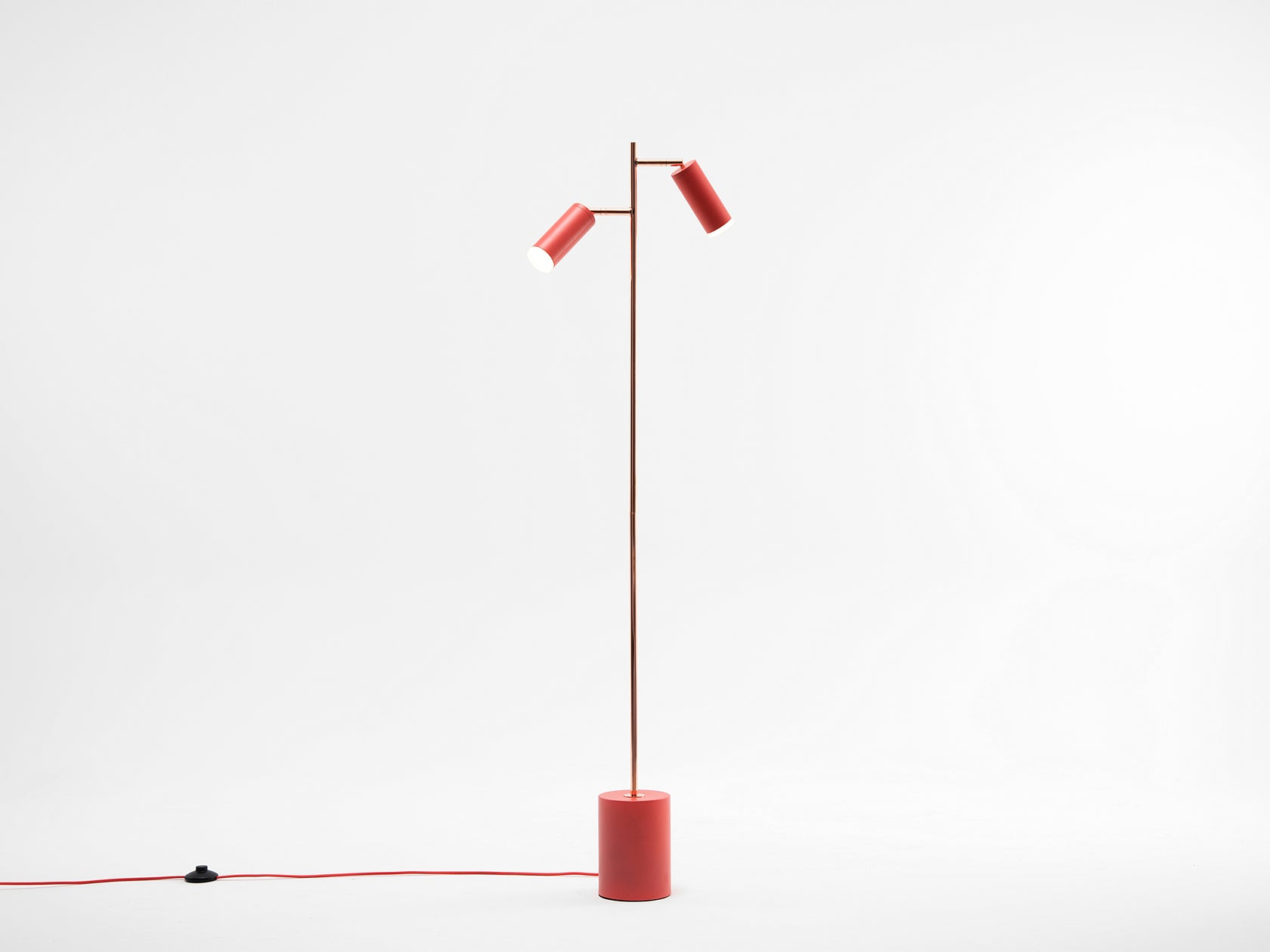 LED task floor lamp coral | on | houseof.com