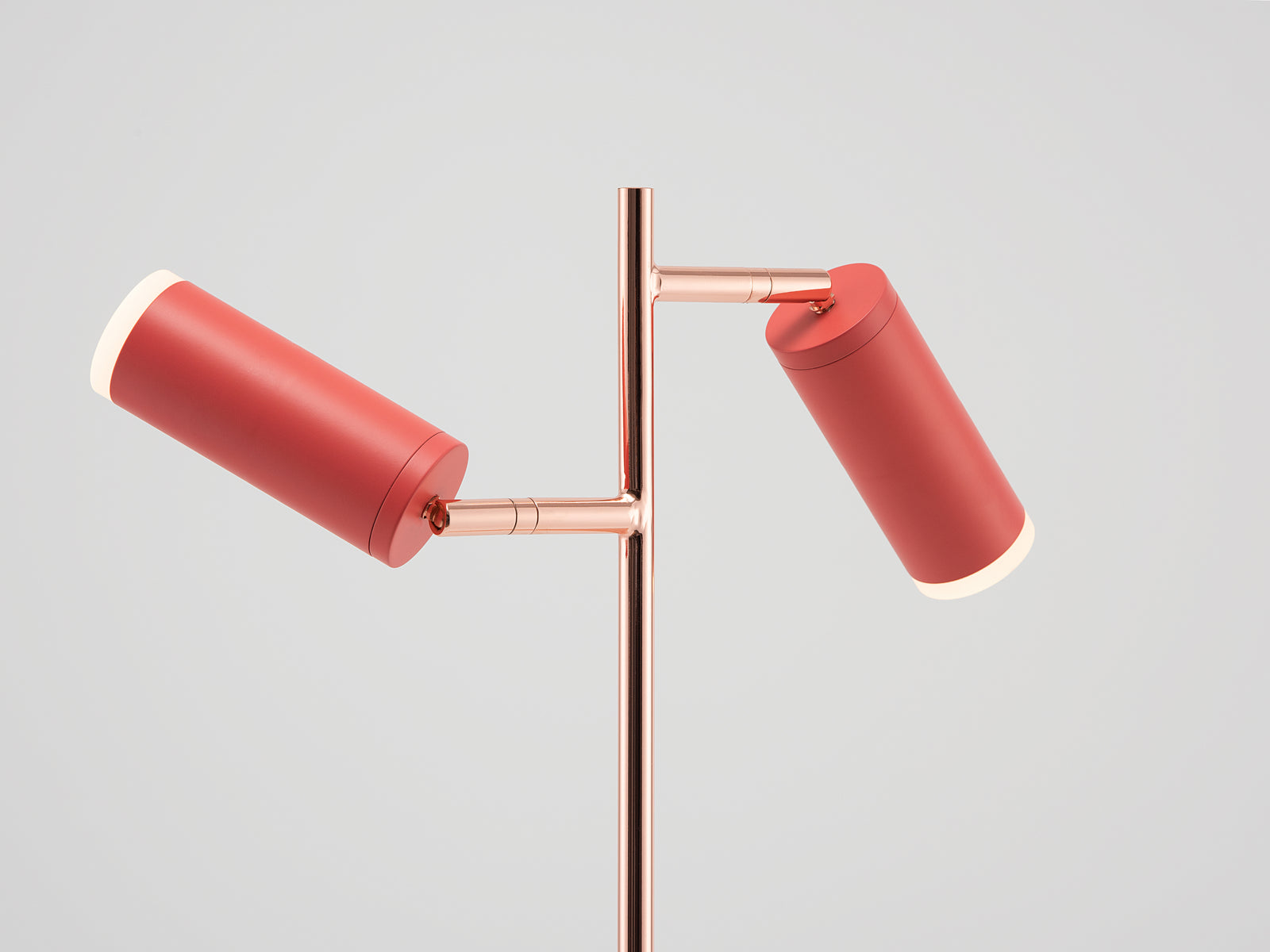 LED task floor lamp coral | shade | houseof.com