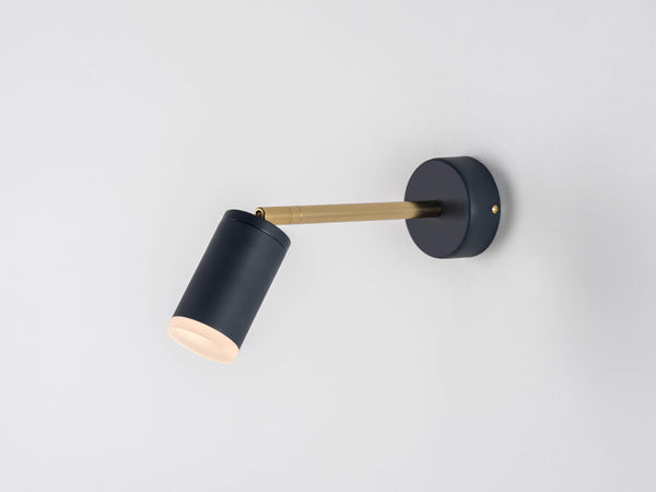 LED task wall light charcoal | on | houseof.com