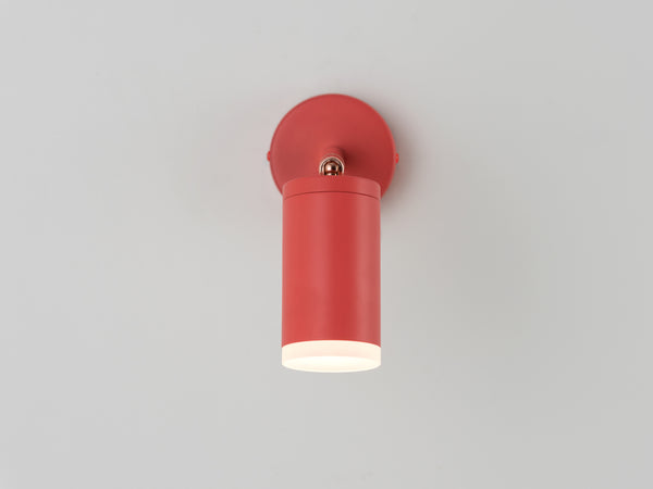 LED task wall light coral | detail | houseof.com