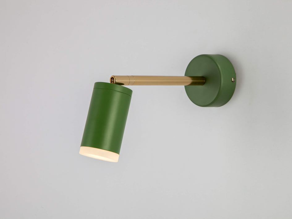 LED task wall light olive | on | houseof.com