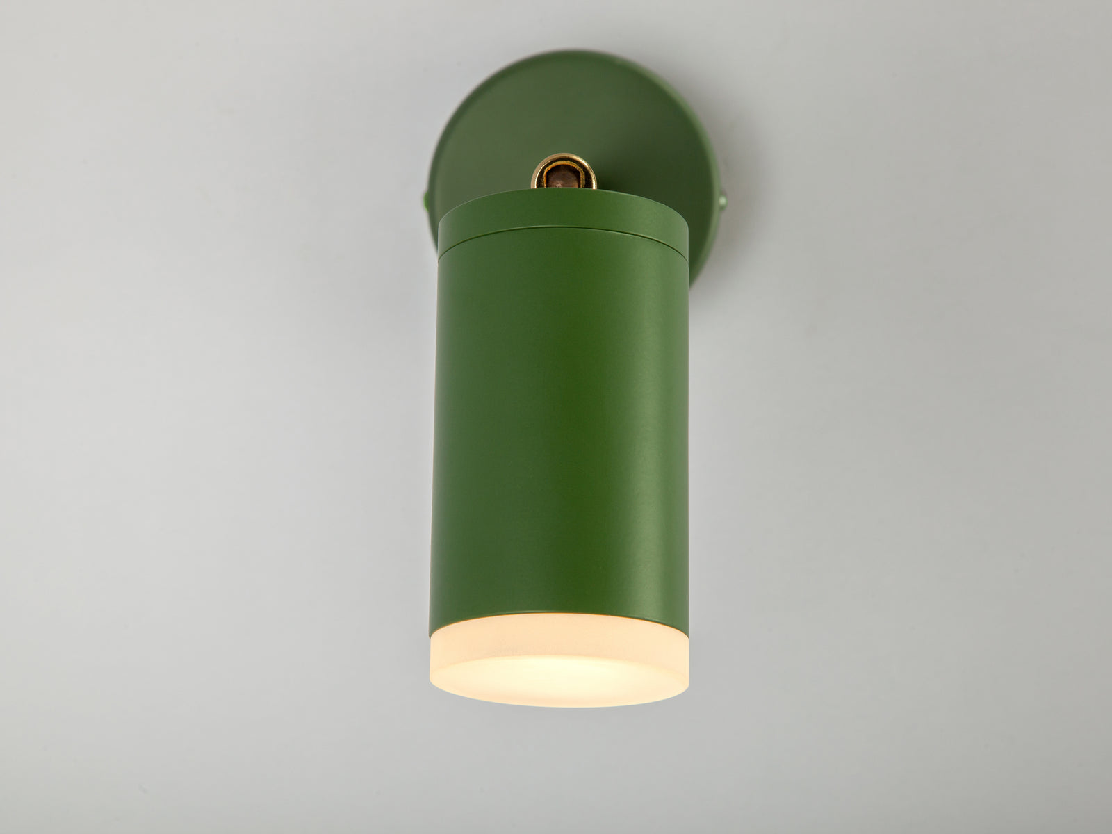 LED task wall light olive | zoom | houseof.com
