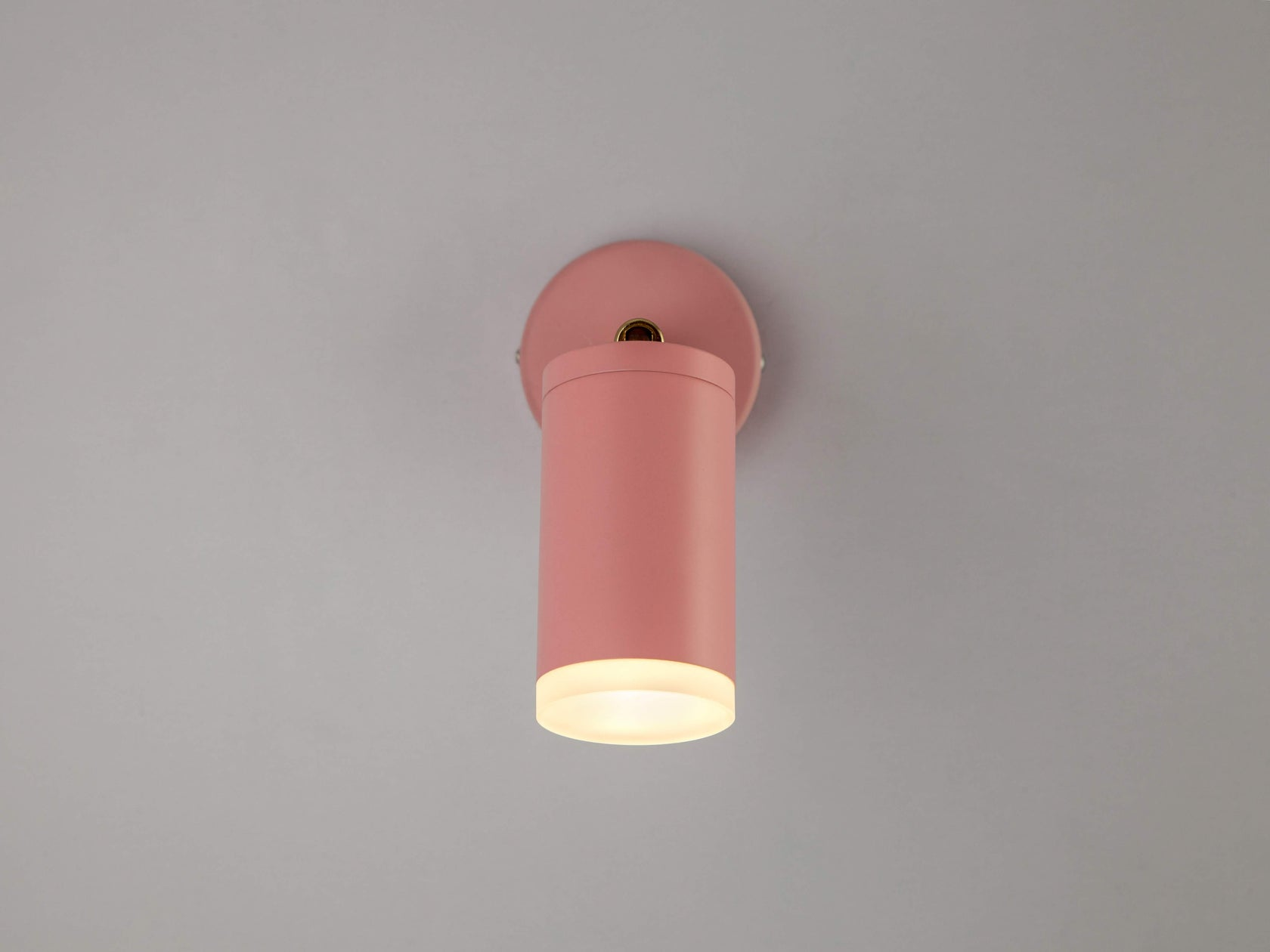 LED task wall light pink | zoom | houseof.com