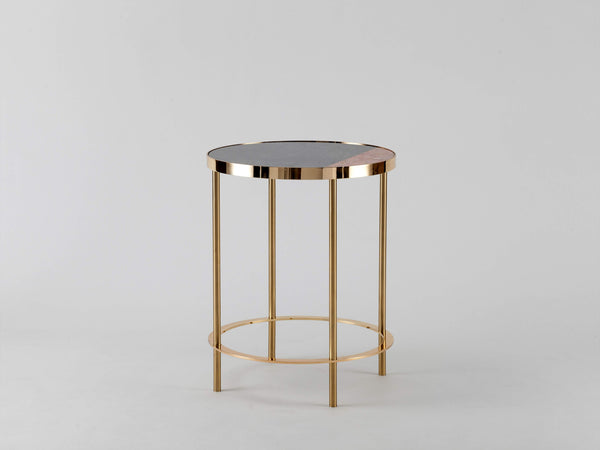 Marble side table pink marble | main | houseof.com