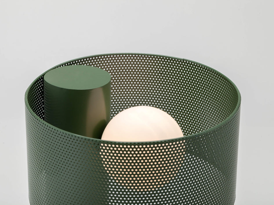 Mesh table lamp olive | shade | houseof.com