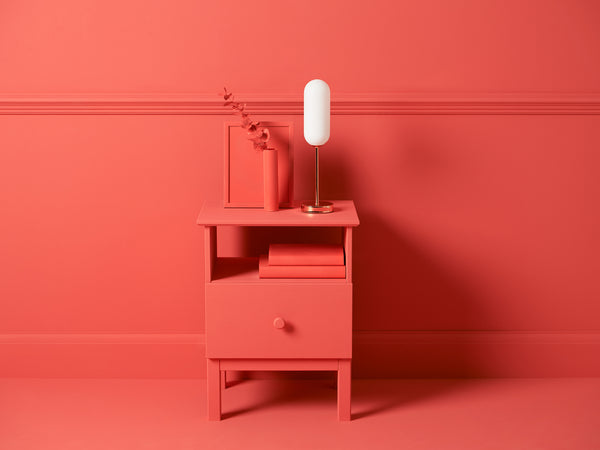 Pill table lamp copper | context | houseof.com
