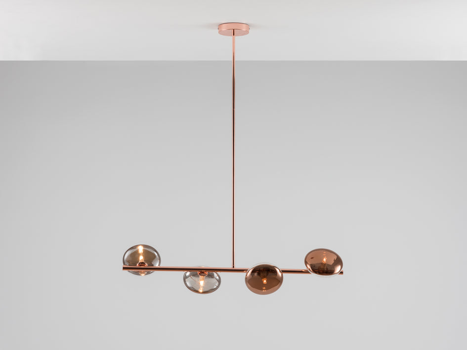 Reflective ceiling light copper | on | houseof.com