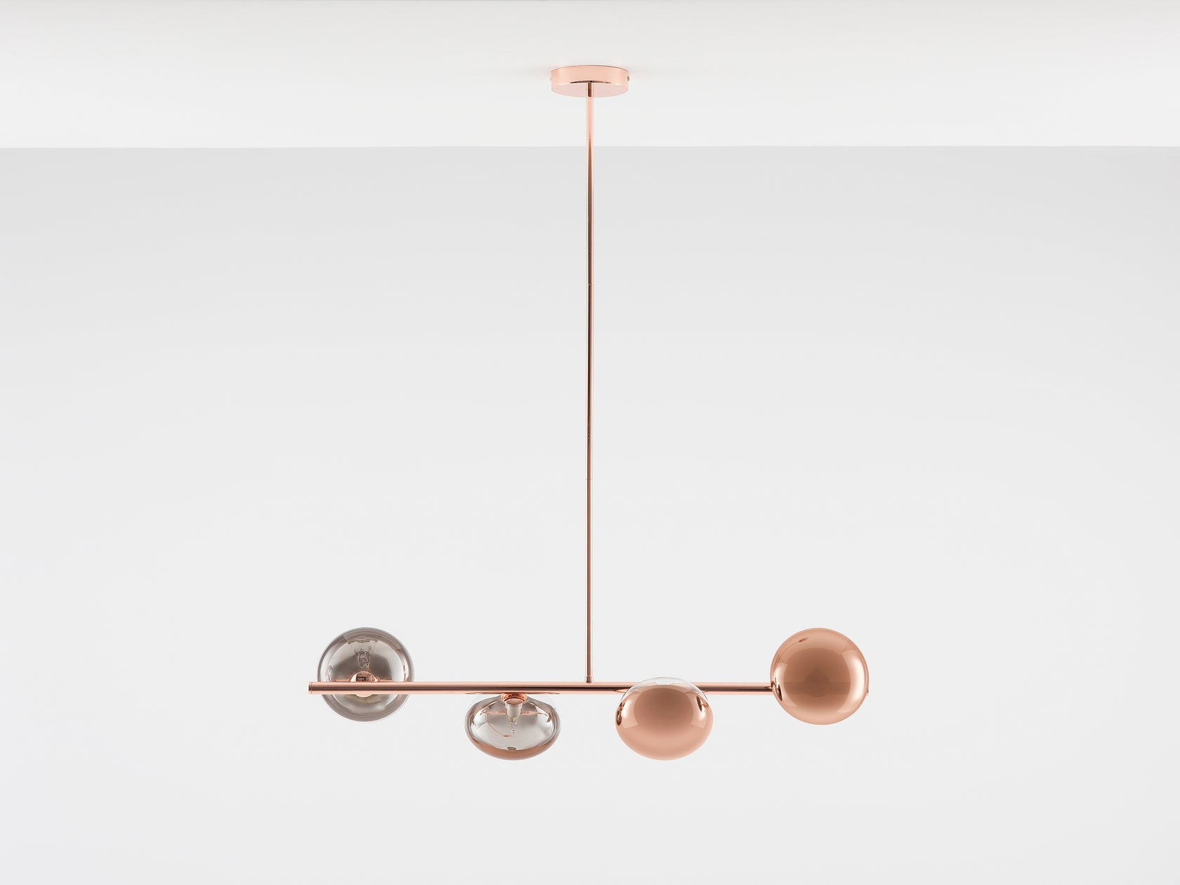 Reflective ceiling light copper | off | houseof.com