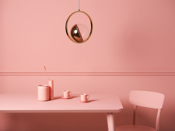 ring ceiling light brass | context | houseof.com