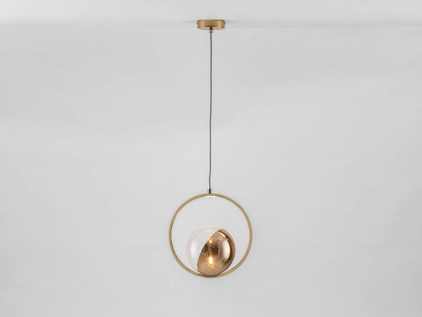 Ring ceiling light brass | on | houseof.com