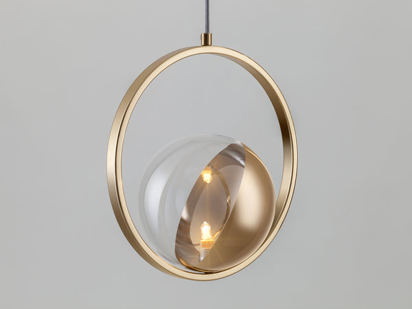 Ring ceiling light brass | zoom | houseof.com
