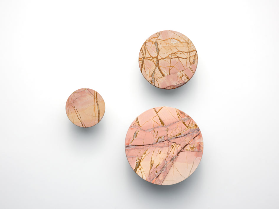 Set of marble hooks pink | main | houseof.com