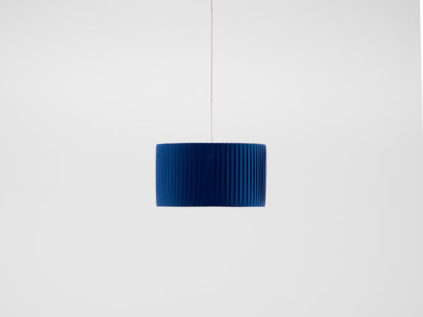 Pleated shade small blue | off | houseof.com