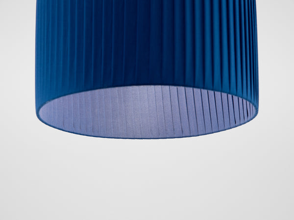 Pleated shade small blue | shade | houseof.com