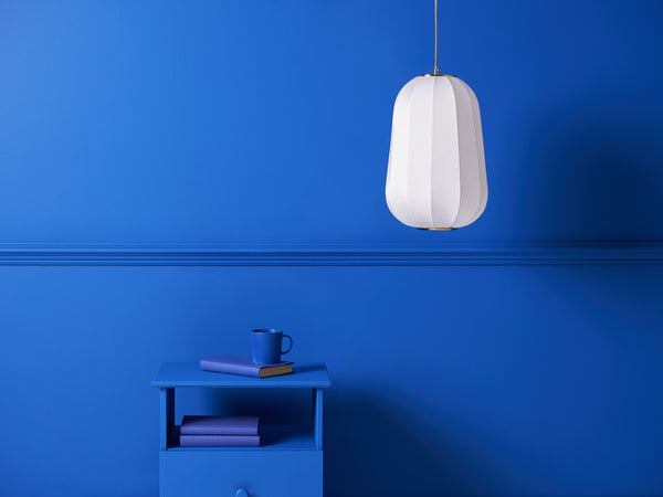 soft fabric ceiling light white | context | houseof.com