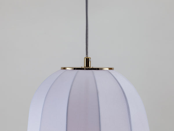 Soft fabric ceiling light white | zoom | houseof.com