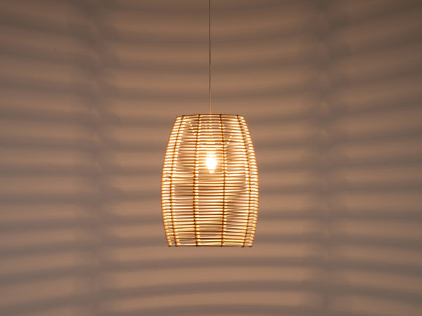 Tall rattan shade natural | dark | houseof.com