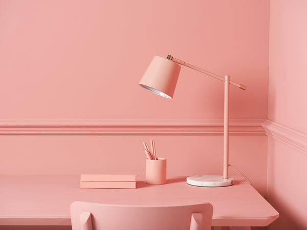 task desk lamp pink | context | houseof.com