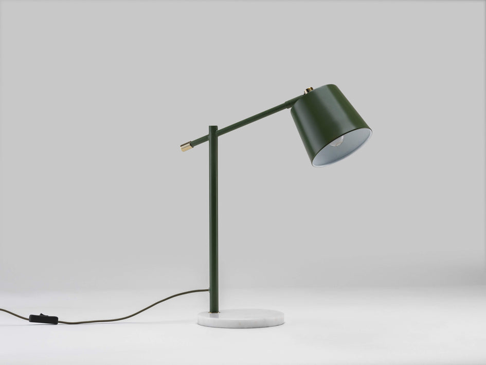 Task desk lamp olive | off | houseof.com