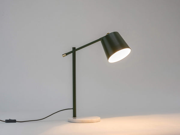 Task desk lamp olive | dark | houseof.com