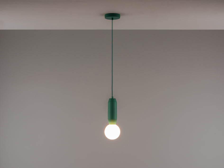 Sea green pendant ceiling light