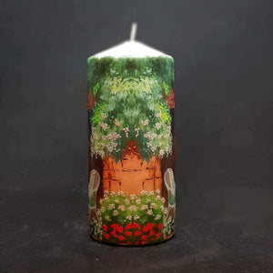 Large pillar candle Easy Sunday Wax pillar candle Candle Affair
