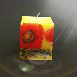 Poppies Large aromatherapy scented candle Scented candle Candle Affair