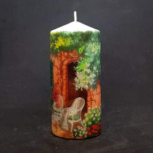 Load image into Gallery viewer, Large pillar candle Easy Sunday Wax pillar candle Candle Affair