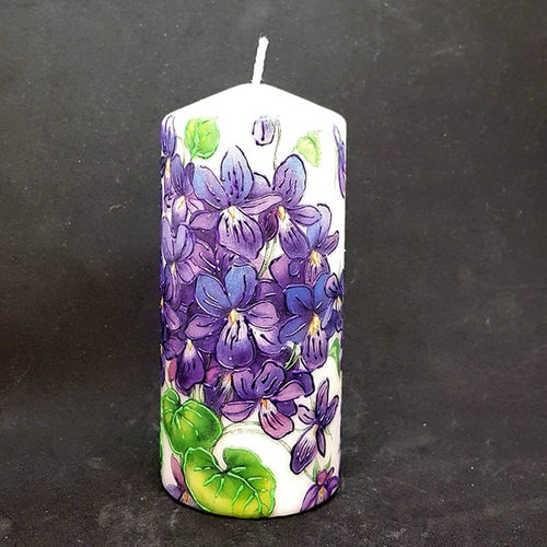 Purple delight Large pillar candle [product_type] Candle Affair