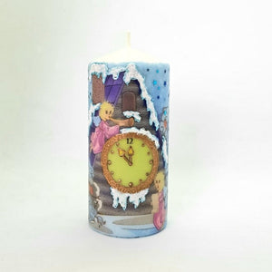 Pillar candle Magic Christmas candle [product_type] Candle Affair