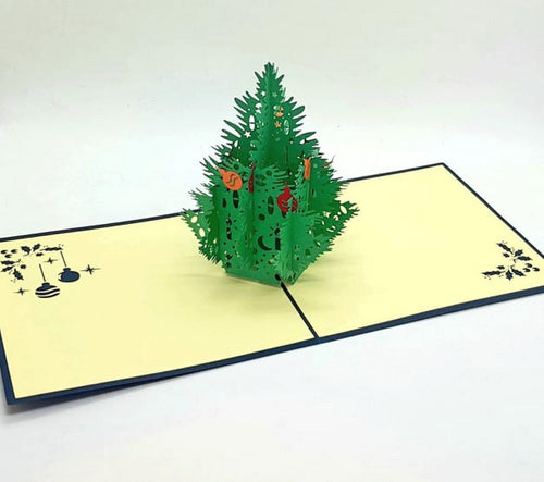 Christmas Tree Pop Up Greeting Card [product_type] Candle Affair