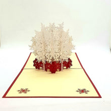 Load image into Gallery viewer, Christmas pop up greeting card - Snowflake [product_type] Candle Affair