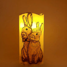 Load image into Gallery viewer, Happy Together LED pillar candle [product_type] Candle Affair
