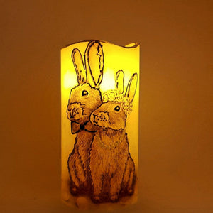 Happy Together LED pillar candle [product_type] Candle Affair