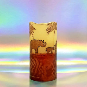 Golden Sunset LED pillar candle LED candle Candle Affair