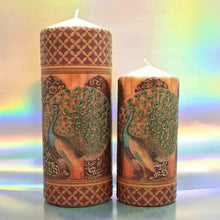 Load image into Gallery viewer, Large pillar candle Golden palace Wax pillar candle Candle Affair