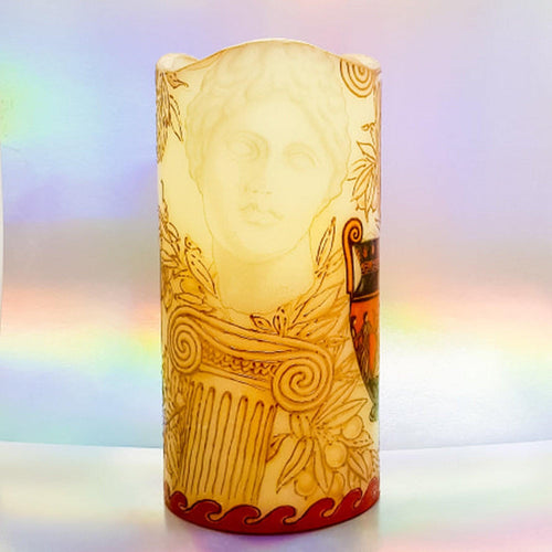 Aphrodite Real wax LED pillar candle LED candle Candle Affair