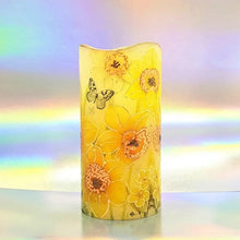 Load image into Gallery viewer, Sunny Spring LED pillar candle [product_type] Candle Affair