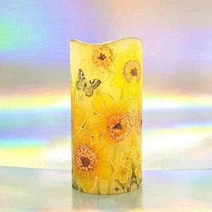 Sunny Spring LED pillar candle [product_type] Candle Affair