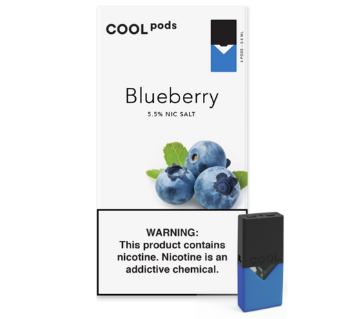 blueberry juul pods