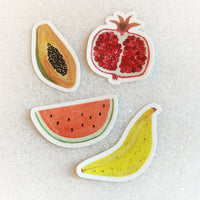 Fruit Stickers - Pack of Four