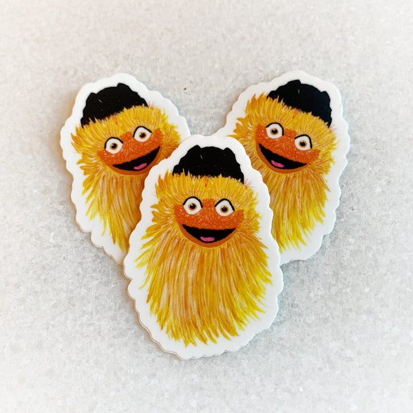 Gritty Sticker + Magnet 3-Pack