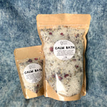 CALM Bath Salt Blend - 2.5 oz or 1 lb bag