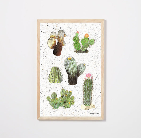 Cacti Poster