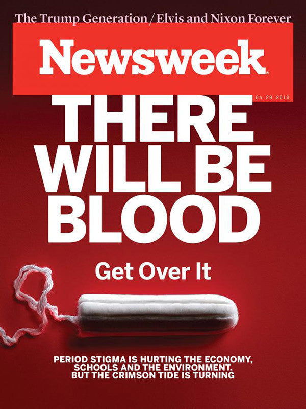 Newsweek's latest cover story wants to end period shaming