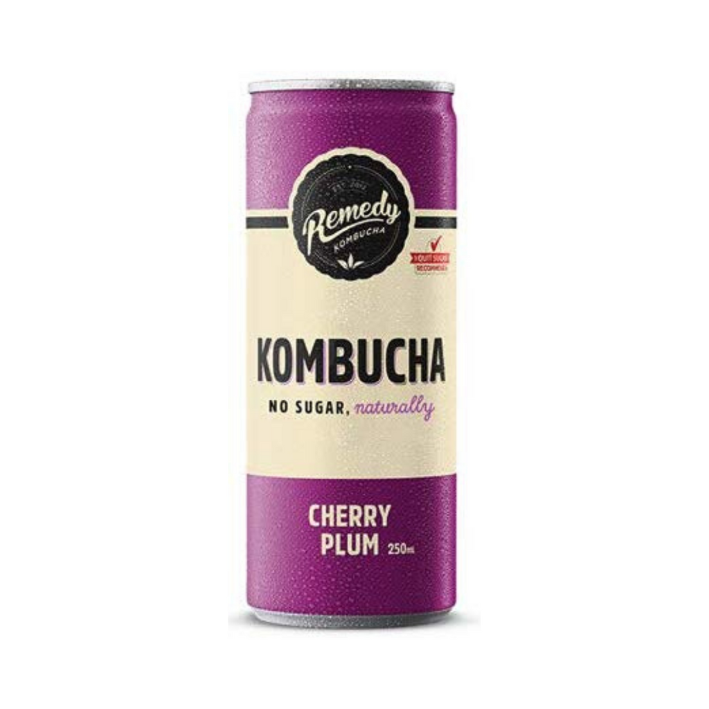 Remedy Drinks Remedy Kombucha Cherry Plum 250ml