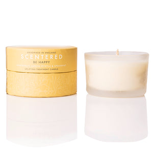 Scentered Be Happy Travel Candle